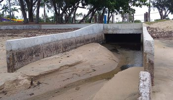 Coastal and storm water management supported through computational fluid dynamics CFD