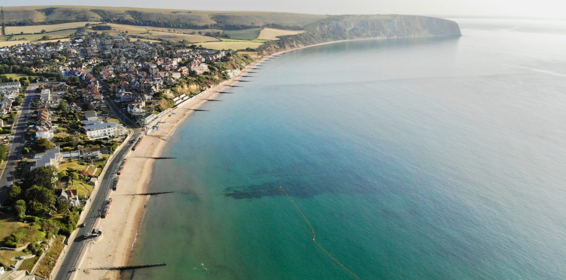 Swanage coastal erosion