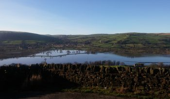 Flooding in the Aire Valley, West Yorkshire 2021