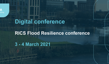 RICS Flood Resilience digital conference banner